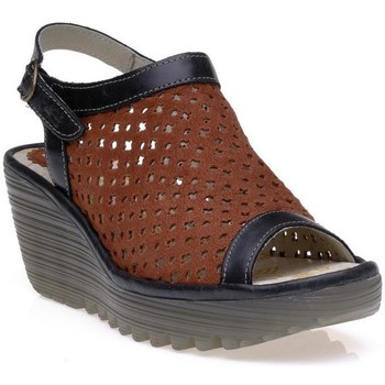 Chaussures Femme Polo Ralph Lauren Fly London 0718601 Rouge/Noir