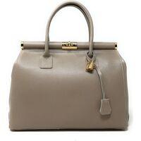 Sacs Femme Sacs porté main Oh My Bag Sac à main femme en cuir grainé taupe TAUPE
