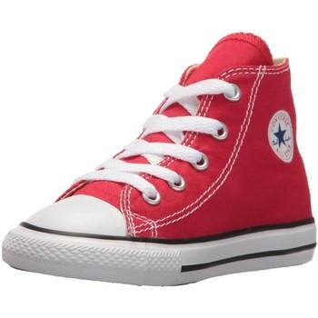 Chaussures Garçon Baskets mode Converse CTAS ALL STAR HI ROUGE