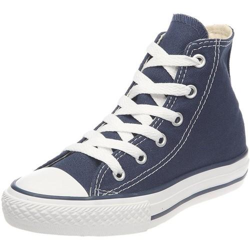 Chaussures Garçon Baskets mode Converse all star hi e bleu