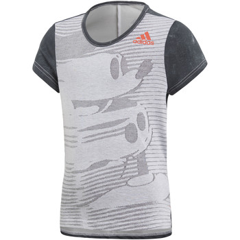 Vêtements Fille T-shirts manches courtes adidas Performance T-shirt Disney The Mouse Gris / Blanc / Noir