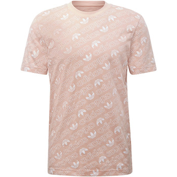 Vêtements Homme T-shirts manches courtes adidas Originals T-shirt Monogram Rose