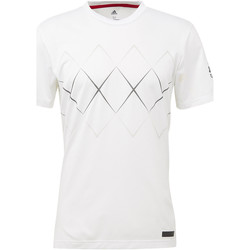 Vêtements Homme T-shirts manches courtes adidas Performance T-shirt Barricade Blanc