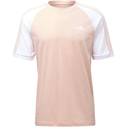 Vêtements Homme T-shirts manches courtes adidas Originals T-shirt 3-Stripes Rose