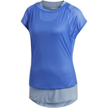 Vêtements Femme T-shirts manches courtes adidas Performance T-shirt Supernova TKO Two-in-One UV blue