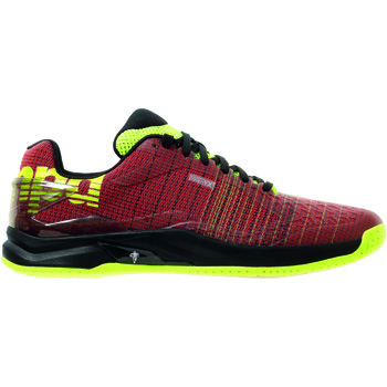 Chaussures Homme Multisport Kempa Chaussures  Attack Two Contender rouge/noir/jaune fluo