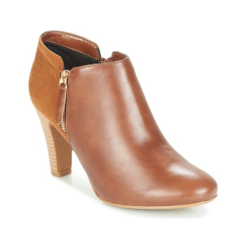 Chaussures Femme Low boots Moony Mood FADI Camel