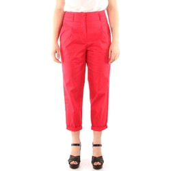 Vêtements Femme Pantalons 5 poches Iblues FEBO Pantalon Femme red red