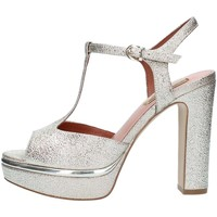 Chaussures Femme Sandales et Nu-pieds Luciano Barachini 11342C Sandales Femme Platinum Platinum