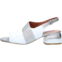 Chaussures Femme Sandales et Nu-pieds Luciano Barachini 11222D Sandales Femme White / Silver White / Silver