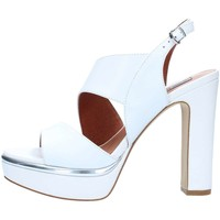 Chaussures Femme Sandales et Nu-pieds Luciano Barachini 11343A Sandales Femme White / Silver White / Silver