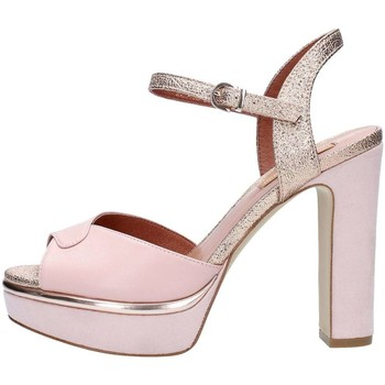 Chaussures Femme Sandales et Nu-pieds Luciano Barachini 11345D Sandales Femme Powder / Peach Powder / Peach