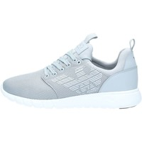 Chaussures Homme Baskets basses Emporio Armani EA7 248050 Basket Homme Soft Grey Soft Grey