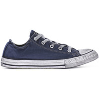 Chaussures Garçon Baskets basses Converse ALL STAR LO CANVAS LTD NAVY Blu