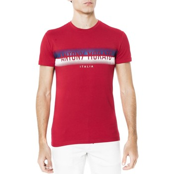 Vêtements T-shirts manches courtes Antony Morato T SHIRT CON STAMPA  MORATO DAV Rouge