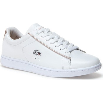 Chaussures Femme Baskets basses Lacoste CARNABY EVO 217.2 ZPT SPORT SRA Blanc