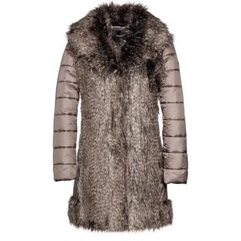 Vêtements Femme Doudounes Beaumont STYLE 63612 Taupe