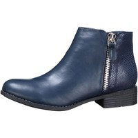 Chaussures Femme Bottines Lily Shoes H818 Blue Bleu