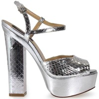 Chaussures Femme Sandales et Nu-pieds Dsquared Ayers Ziggy Silver