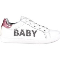 Chaussures Enfant Baskets basses Brio Shoes Baskets Baby blanc
