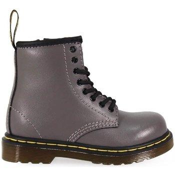 Chaussures Enfant Bottes Dr Martens Bottes Brookle Plomb Enfant Grigio Grey