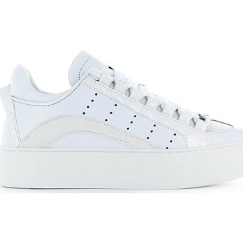 Chaussures Homme Baskets basses Dsquared 551 Maxi Sole blanc