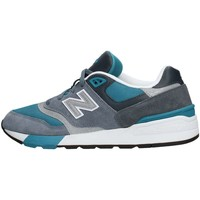 Chaussures Homme Baskets basses New Balance ML597AAD Sneaker Homme Turquoise Turquoise
