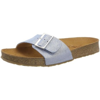 Chaussures Femme Mules Haflinger 819015 bleu