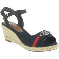 Chaussures Femme Espadrilles Tom Tailor 48902 bleu