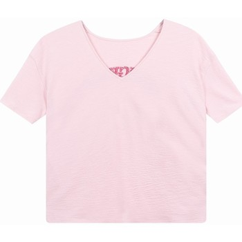 Vêtements Femme T-shirts & Polos Frnch T-shirt charlyse Rose