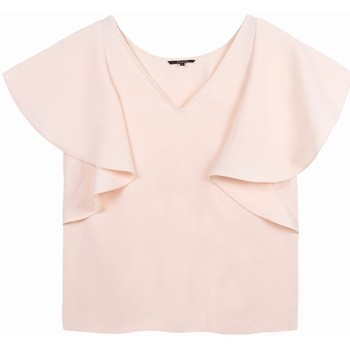 Vêtements Femme Tops / Blouses Frnch Top cleya Rose