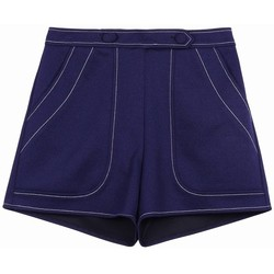 Vêtements Femme Shorts / Bermudas Frnch Short damia Bleu marine