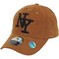 Accessoires textile Homme Casquettes Ny Official Ny camel h t57 dain Camel