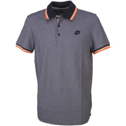 Vêtements Homme Polos manches courtes Lotto L73 vlt/nv mc polo Divers ou multicolor
