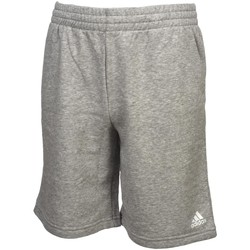Vêtements Garçon Shorts / Bermudas adidas Originals Logo greymel/blc short jr Gris chiné