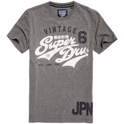 Vêtements Homme T-shirts manches courtes Superdry Stacker Duo Rework Classic T-Shirt Mc Homme