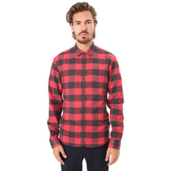 Vêtements Homme Chemises manches longues Kronstadt JOHAN ZIP CHECKED Multicolore