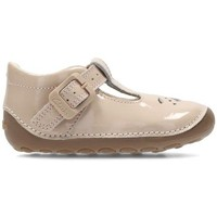 Chaussures Enfant Ballerines / babies Clarks Little Weave Beige