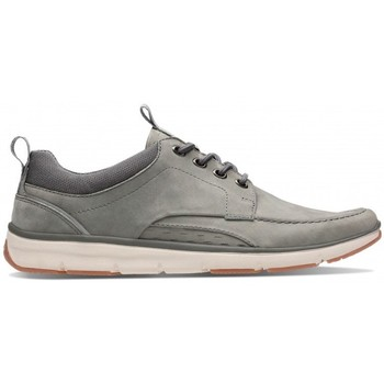 Chaussures Homme Baskets basses Clarks Orson Bay Gris