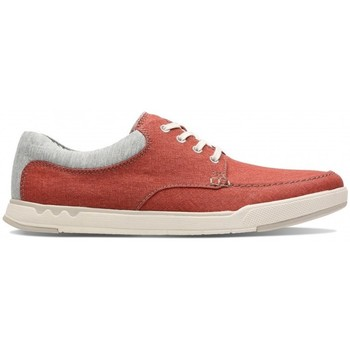 Chaussures Homme Baskets basses Clarks Step Isle Lace orange