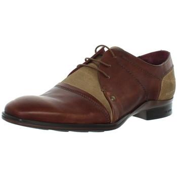 Chaussures Ville basse Redskins Chaussures de ville  Juradi en cuir ref_cle43207-tabac marron Marron