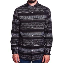 Vêtements Homme Chemises manches longues Wemoto STED Marron