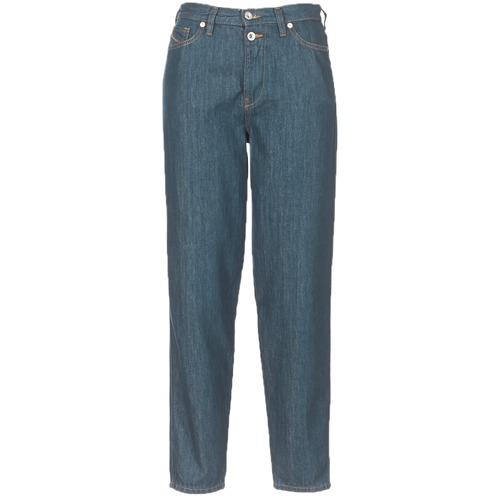 Vêtements Femme Jeans droit Diesel ALYS Bleu 084UR