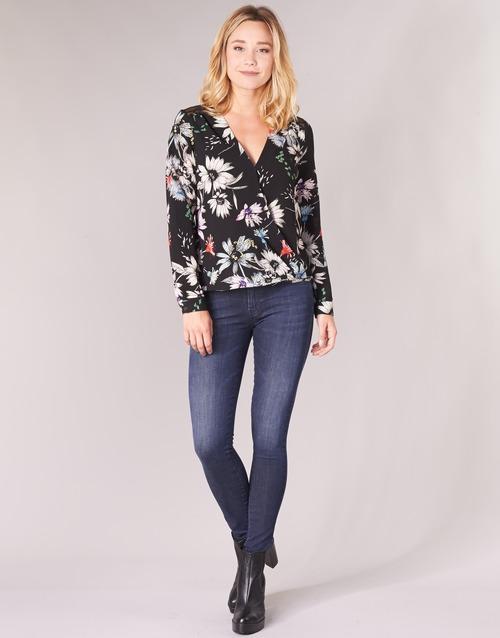 Vêtements Femme Jeans skinny Diesel SLANDY Bleu 681G