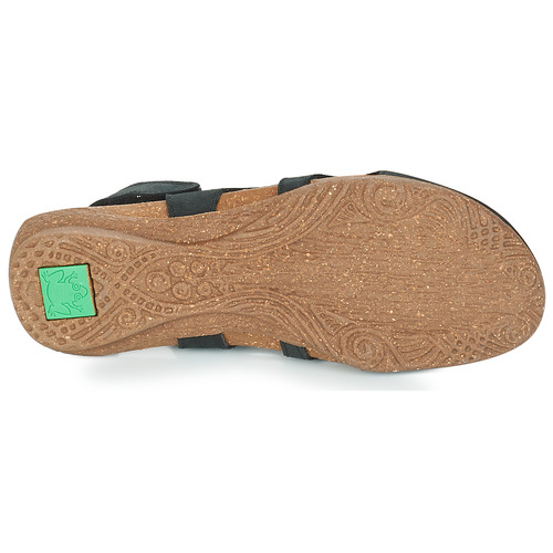 Sandales El pieds Wakataua Femme Naturalista Et Nu Noir 4LA35Rjcq