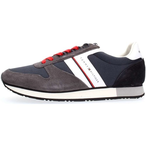Tommy Hilfiger FM0FM01590 NEW ICONIC RUNNER SNEAKERS Homme MIDNIGHT MIDNIGHT - Chaussures Baskets basses Homme