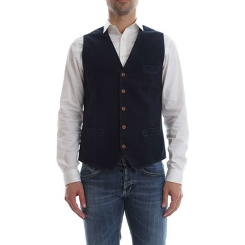 Vêtements Homme Gilets / Cardigans Circolo 1901 CN1880 GILET Homme INDACO INDACO