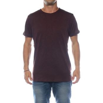 Vêtements Homme T-shirts manches courtes !solid KARRSON Marron