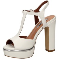 Chaussures Femme Sandales et Nu-pieds Luciano Barachini NAPPA KID blanc