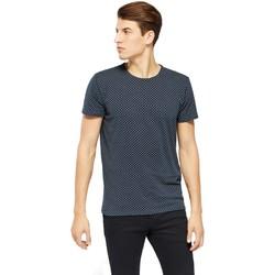 Vêtements Homme T-shirts manches courtes !solid KARRSON Bleu